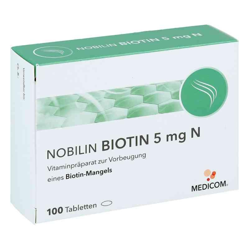 Nobilin Biotin 5 mg N Tabletten  bei deutscheinternetapotheke.de bestellen