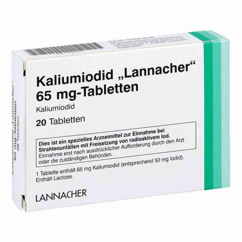 Kaliumiodid Lannacher 65 mg Tabletten  bei deutscheinternetapotheke.de bestellen