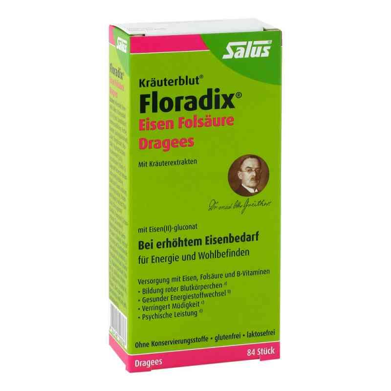 Floradix Eisen Folsäure Dragees  bei deutscheinternetapotheke.de bestellen