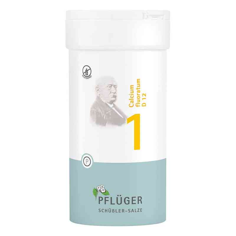 Biochemie Pflüger 1 Calcium fluor.D 12 Tabletten  bei deutscheinternetapotheke.de bestellen