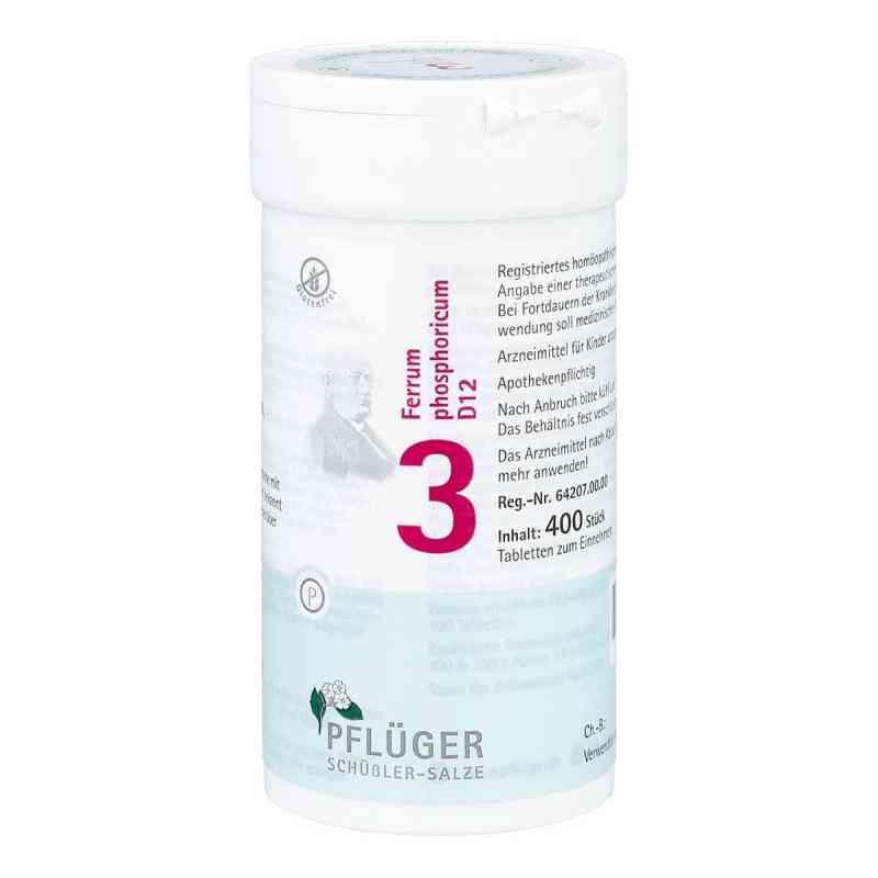 Biochemie Pflüger 3 Ferrum phosphoricum D12 Tabletten  bei deutscheinternetapotheke.de bestellen