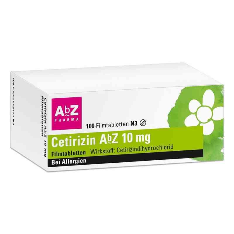 Cetirizin AbZ 10mg  bei deutscheinternetapotheke.de bestellen