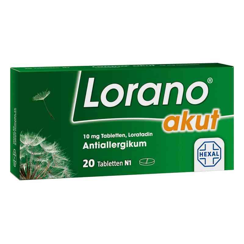 Lorano akut  bei deutscheinternetapotheke.de bestellen