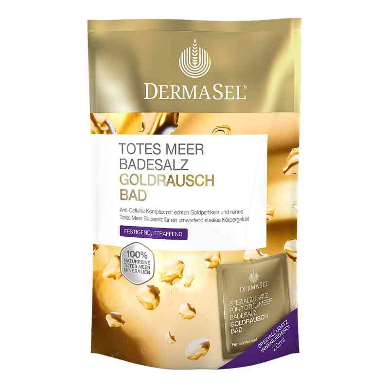 Dermasel Totes Meer Badesalz+gold Exklusiv  bei deutscheinternetapotheke.de bestellen