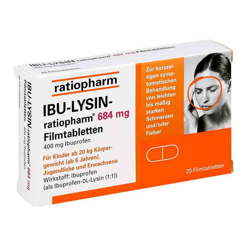 IBU-LYSIN-ratiopharm 684mg  bei deutscheinternetapotheke.de bestellen