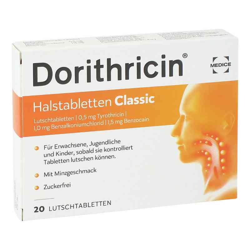 Dorithricin Halstabletten Classic 0,5mg/1,0mg/1,5mg  bei deutscheinternetapotheke.de bestellen