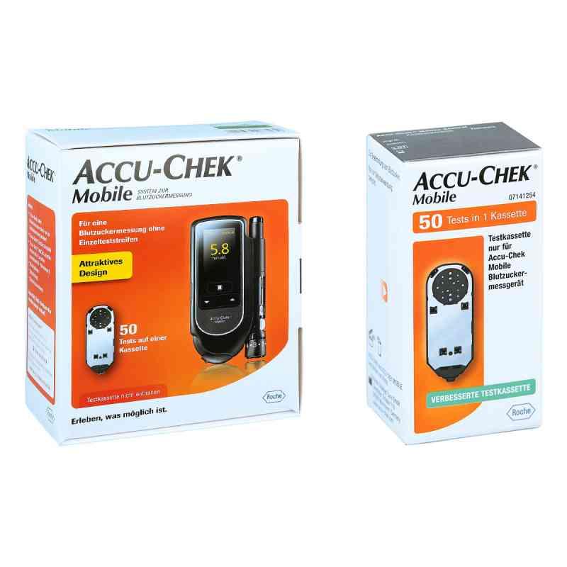 Accu Chek Mobile Set mmol/l Iii + Accu Chek Mobile Testkassette  bei deutscheinternetapotheke.de bestellen