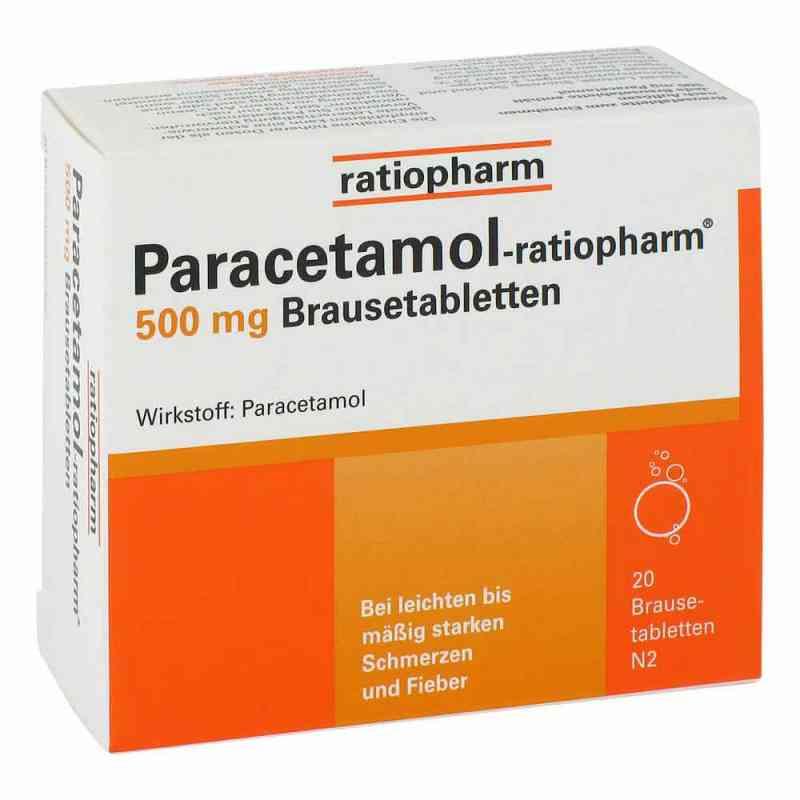 Paracetamol-ratiopharm 500mg  bei deutscheinternetapotheke.de bestellen