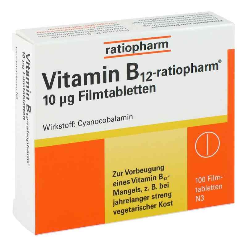 Vitamin B12 ratiopharm 10 [my]g Filmtabletten  bei deutscheinternetapotheke.de bestellen