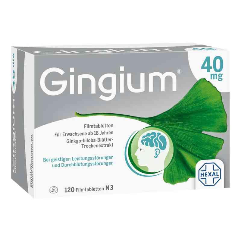 Gingium 40mg  bei deutscheinternetapotheke.de bestellen