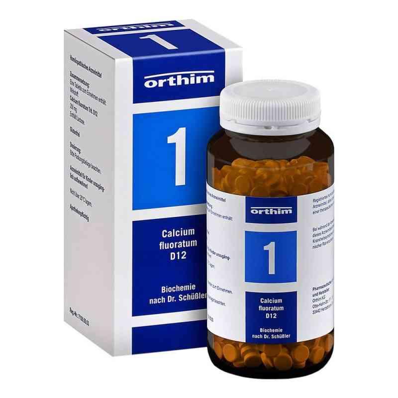 Biochemie Orthim 1 Calcium fluoratum D12 Tabletten  bei deutscheinternetapotheke.de bestellen