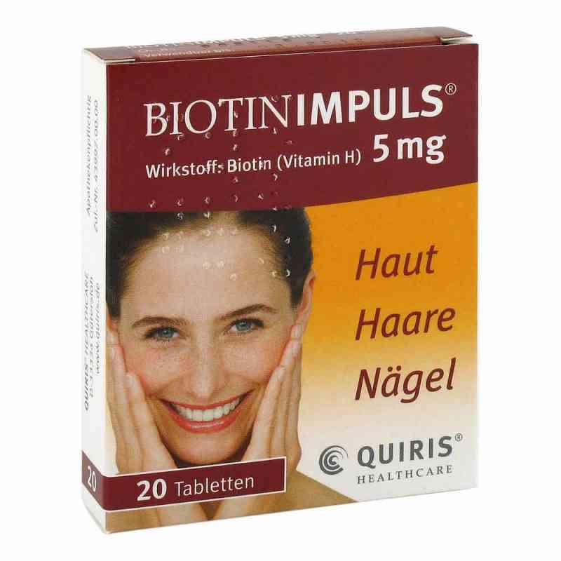 Biotin Impuls 5 mg Tabletten  bei deutscheinternetapotheke.de bestellen