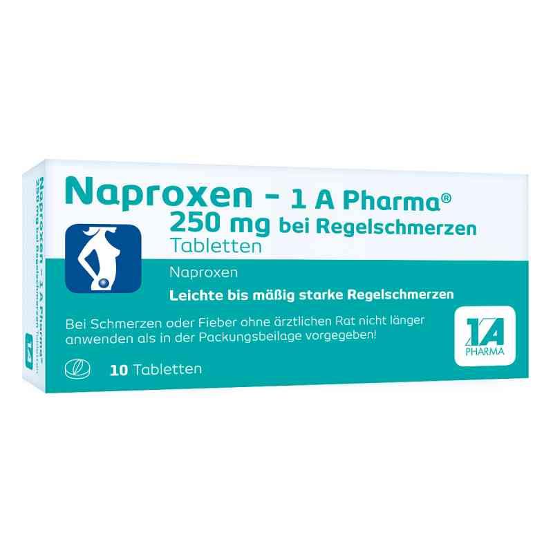 Naproxen-1A Pharma 250mg bei Regelschmerzen  bei deutscheinternetapotheke.de bestellen
