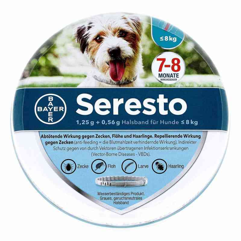 Seresto Halsband für kleine Hunde bis 8 kg  bei deutscheinternetapotheke.de bestellen