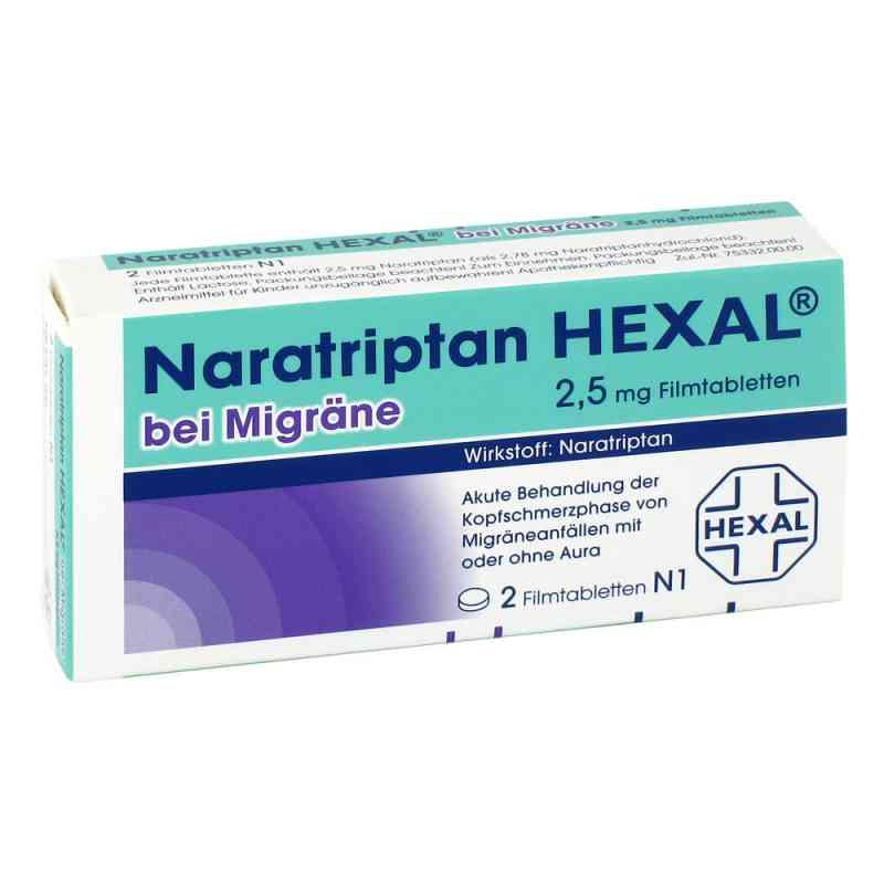 Naratriptan HEXAL bei Migräne 2,5mg  bei deutscheinternetapotheke.de bestellen