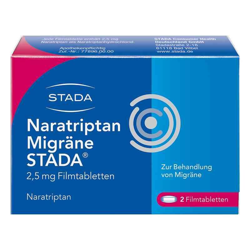 Naratriptan Migräne STADA 2,5mg  bei deutscheinternetapotheke.de bestellen
