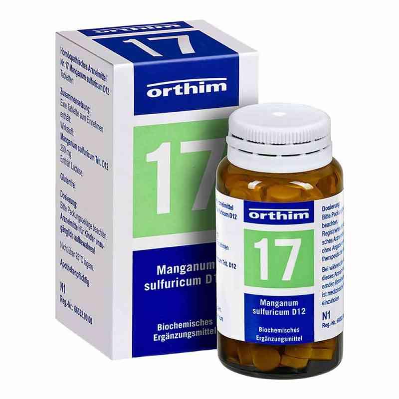 Biochemie Orthim 17 Manganum sulfuricum D12 Tabletten  bei deutscheinternetapotheke.de bestellen