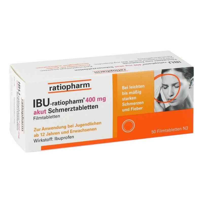 IBU-ratiopharm 400 akut Schmerztabletten  bei deutscheinternetapotheke.de bestellen