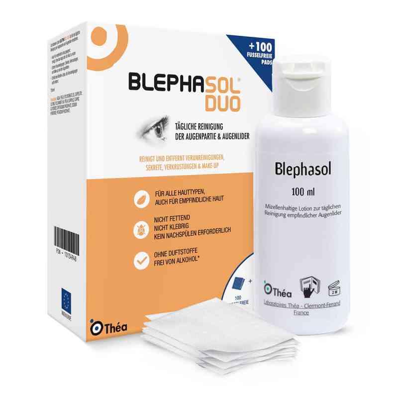 Blephasol Duo 100 ml Lotion+100 Reinigungspads  bei deutscheinternetapotheke.de bestellen