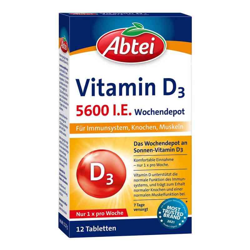 abtei vitamin d3 i e wochendepot tabletten 12 stk. Black Bedroom Furniture Sets. Home Design Ideas