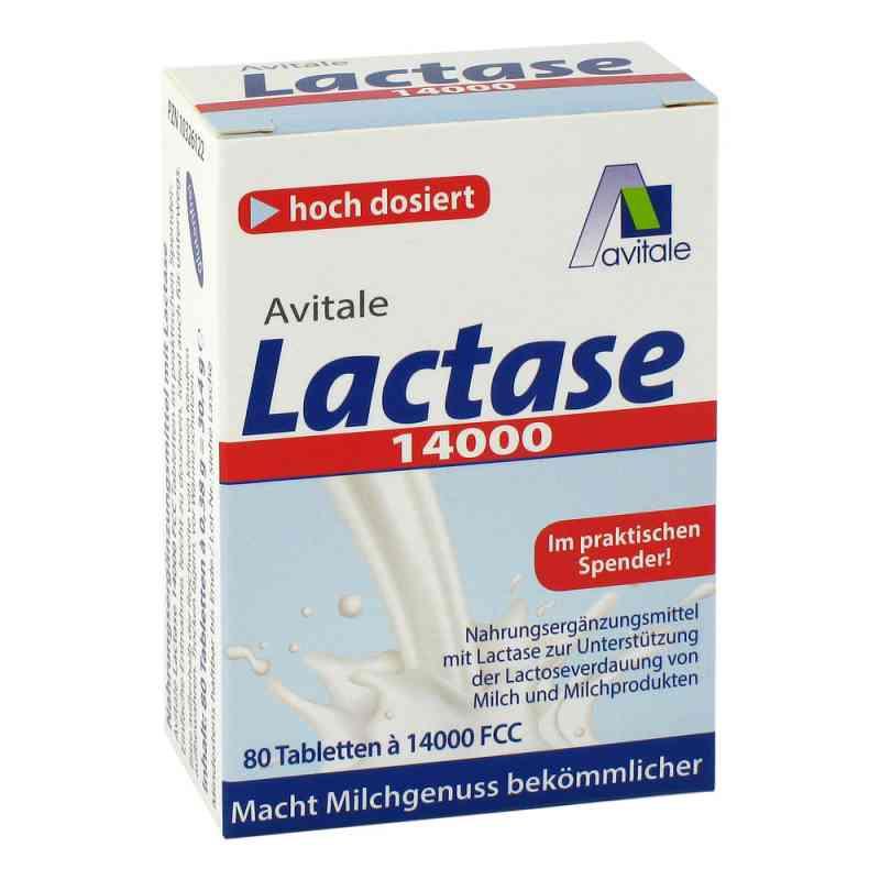 Lactase 14000 Fcc Tabletten im Spender  bei deutscheinternetapotheke.de bestellen