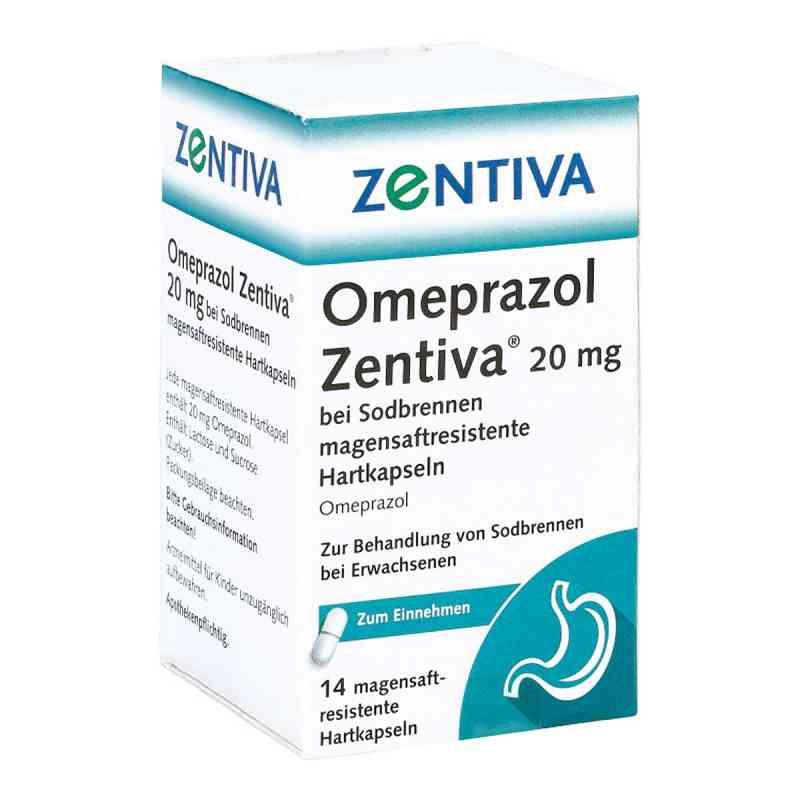 Omeprazol Zentiva 20mg bei Sodbrennen  bei deutscheinternetapotheke.de bestellen