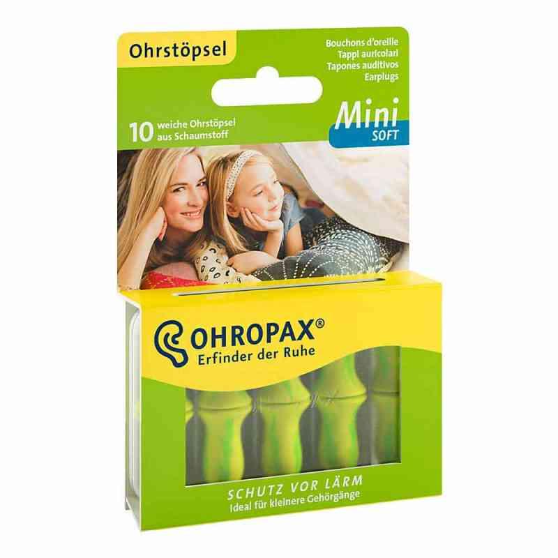 Ohropax mini soft Schaumstoff Stöpsel  bei deutscheinternetapotheke.de bestellen