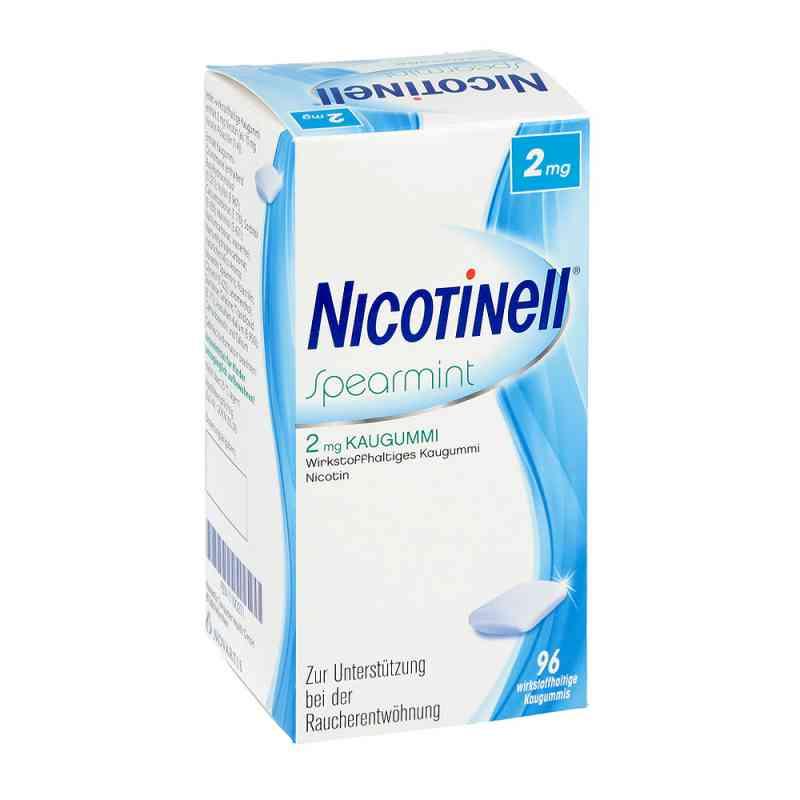Nicotinell Kaugummi 2 mg Spearmint  bei deutscheinternetapotheke.de bestellen