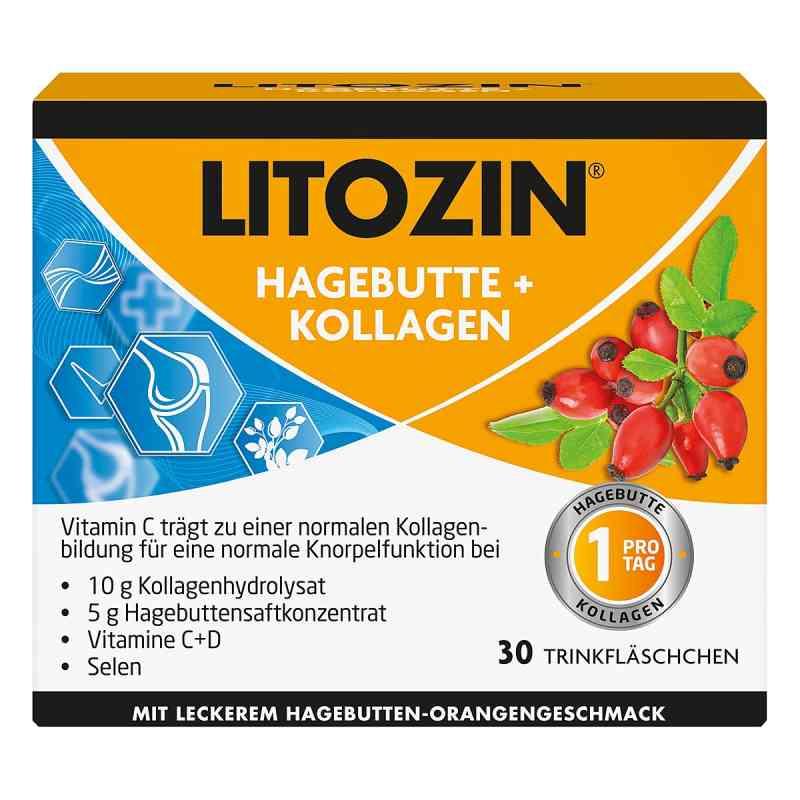 Litozin Hagebutte+kollagen Trinkfläschchen  bei deutscheinternetapotheke.de bestellen
