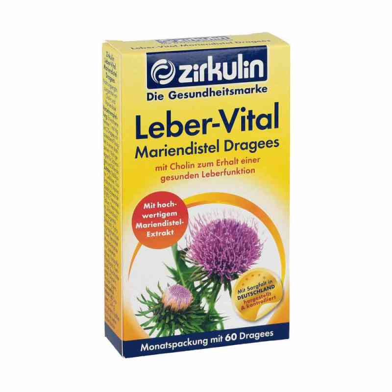 Zirkulin Leber-vital Mariendistel Dragees  bei deutscheinternetapotheke.de bestellen