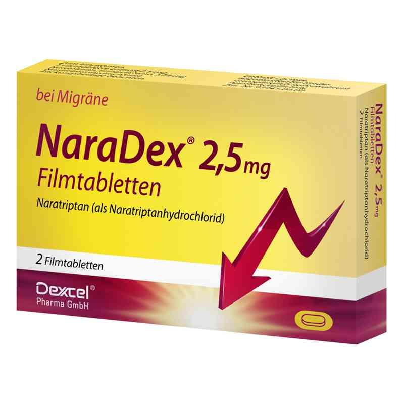 NaraDex 2,5mg  bei deutscheinternetapotheke.de bestellen