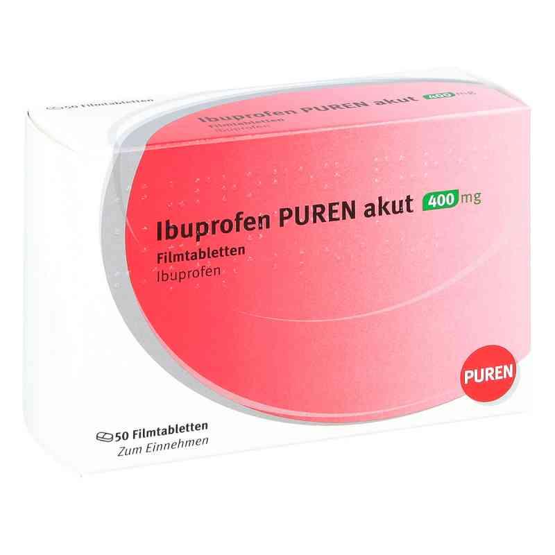 Ibuprofen Puren akut 400 mg Filmtabletten  bei deutscheinternetapotheke.de bestellen