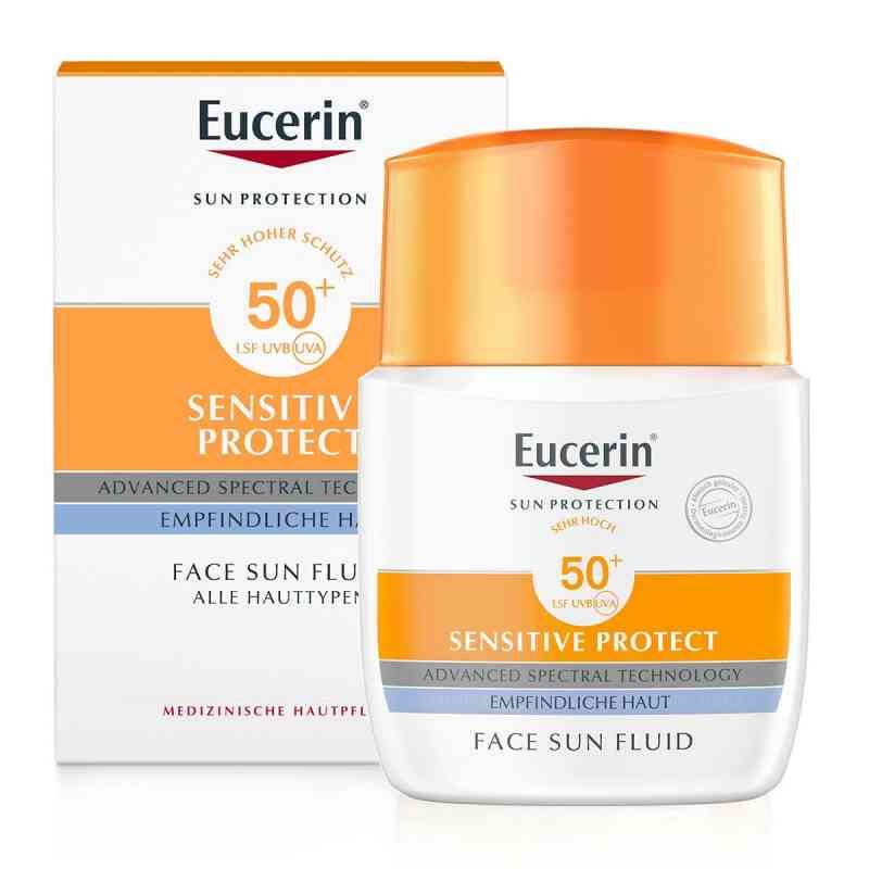 Eucerin Sun Sensitive Protect Face Fluid LSF 50+  bei deutscheinternetapotheke.de bestellen