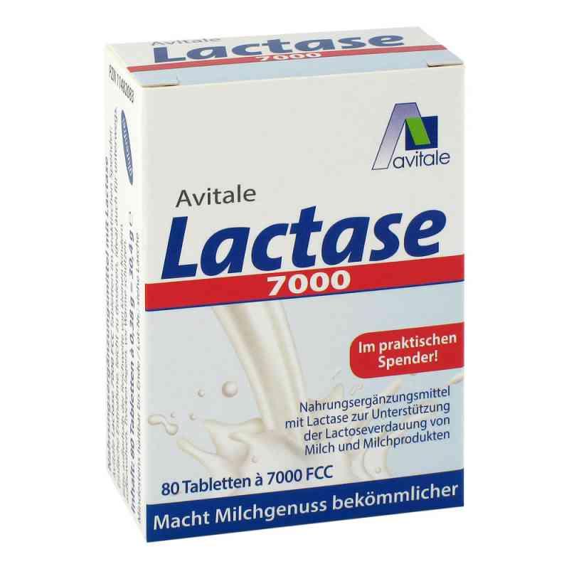 Lactase 7.000 Fcc Tabletten im Spender  bei deutscheinternetapotheke.de bestellen