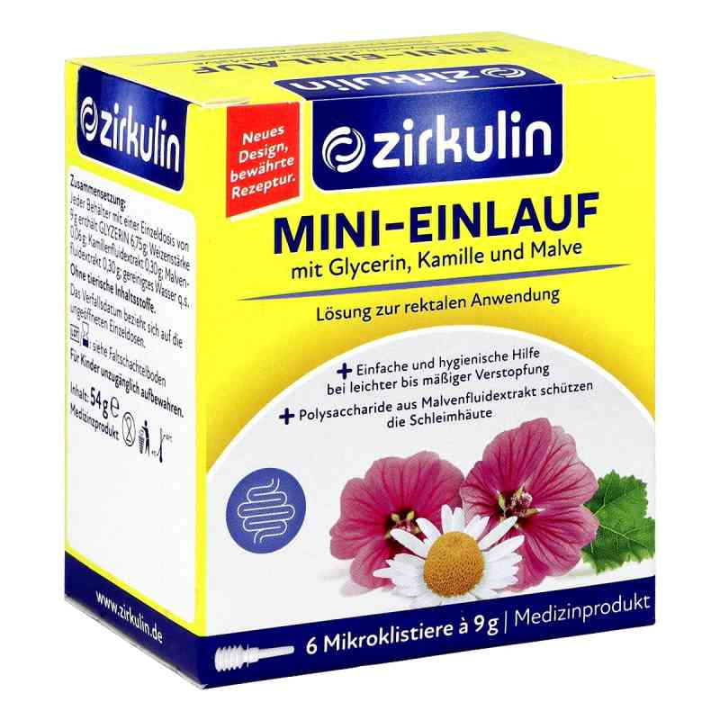 Zirkulin Mini-einlauf Klistiere  bei deutscheinternetapotheke.de bestellen