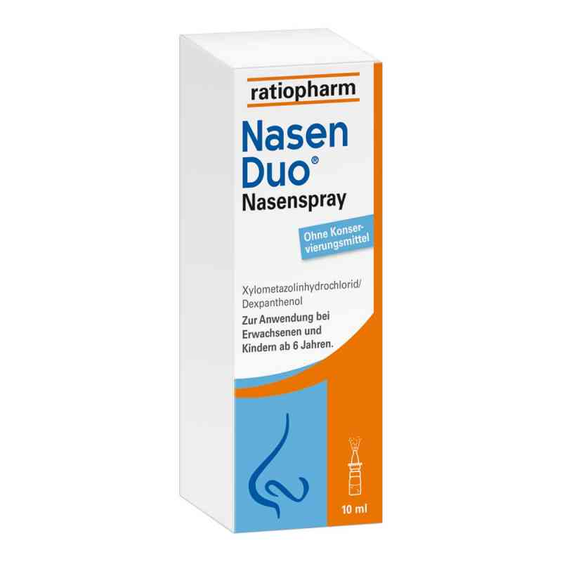 nasenduo nasenspray 10 ml deutsche internet apotheke. Black Bedroom Furniture Sets. Home Design Ideas