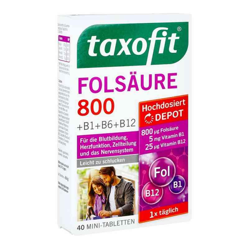 Taxofit Folsäure 800 Depot Tabletten  bei deutscheinternetapotheke.de bestellen