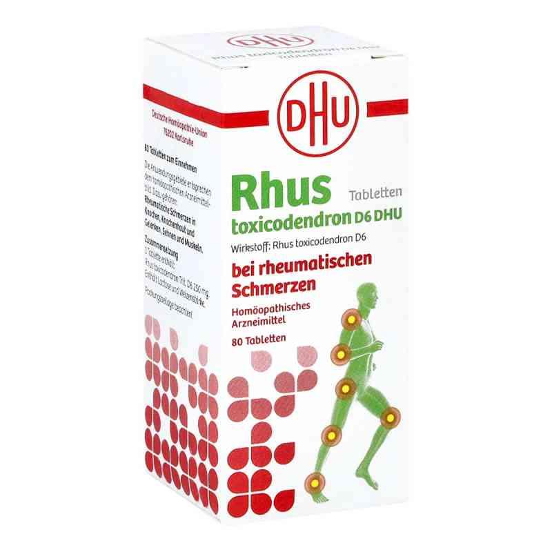 Rhus Tox. D6 Dhu bei rheumatischen Schmerzen Tabletten   bei deutscheinternetapotheke.de bestellen