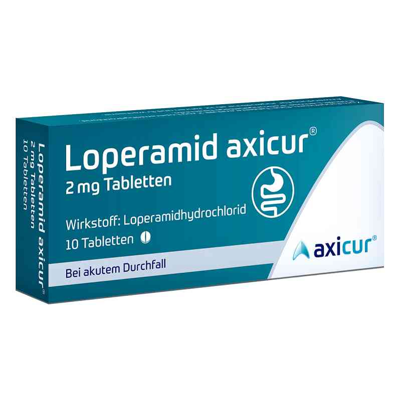 Loperamid axicur 2 mg Tabletten  bei deutscheinternetapotheke.de bestellen