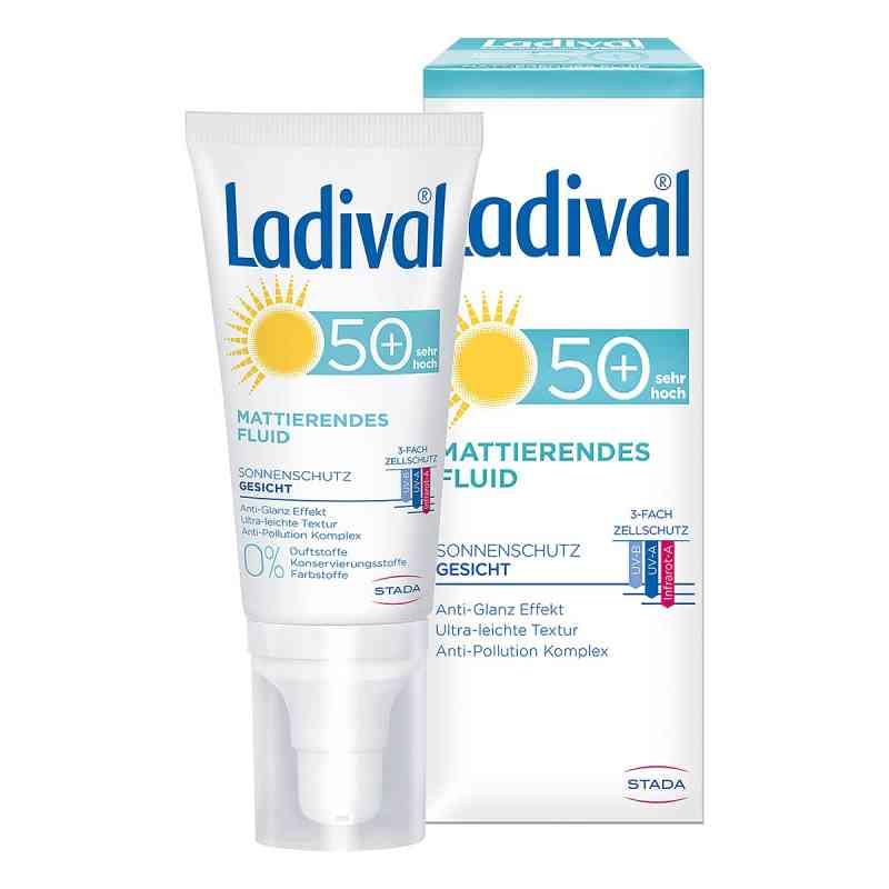 Ladival Sonnenschutz Gesicht Fluid mattierend LSF 50+  bei deutscheinternetapotheke.de bestellen