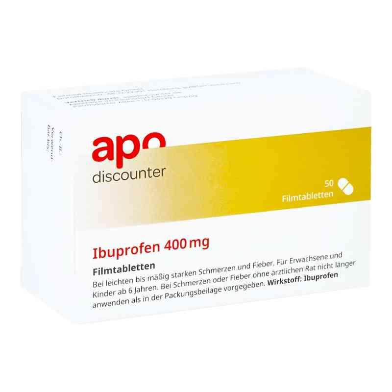 Ibuprofen 400 mg von apo-discounter Filmtabletten bei Schmerzen   bei deutscheinternetapotheke.de bestellen