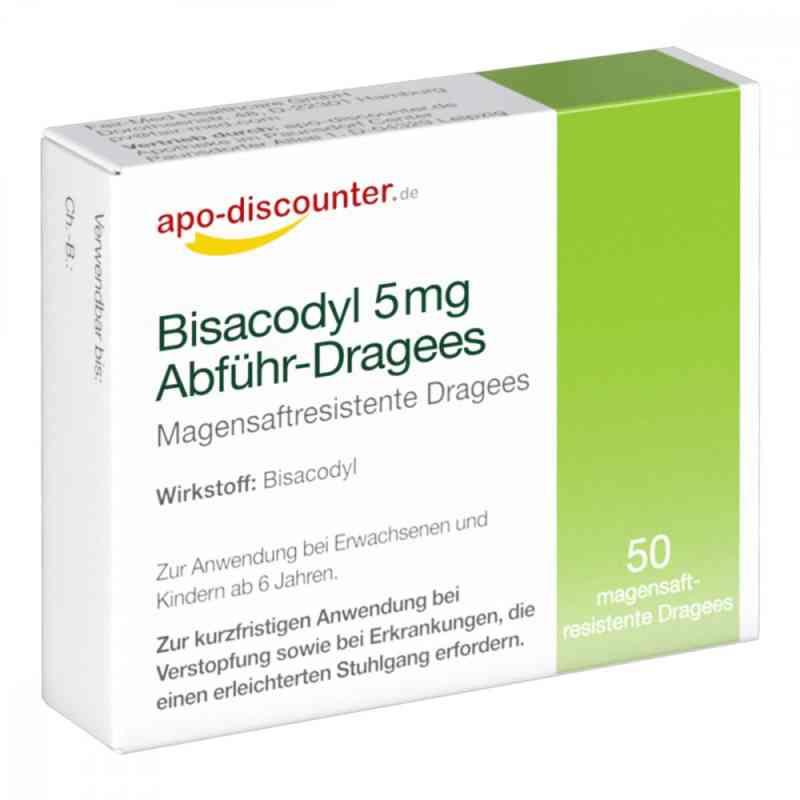 Bisacodyl 5mg Dragees von apo-discounter - bei Verstopfung  bei deutscheinternetapotheke.de bestellen