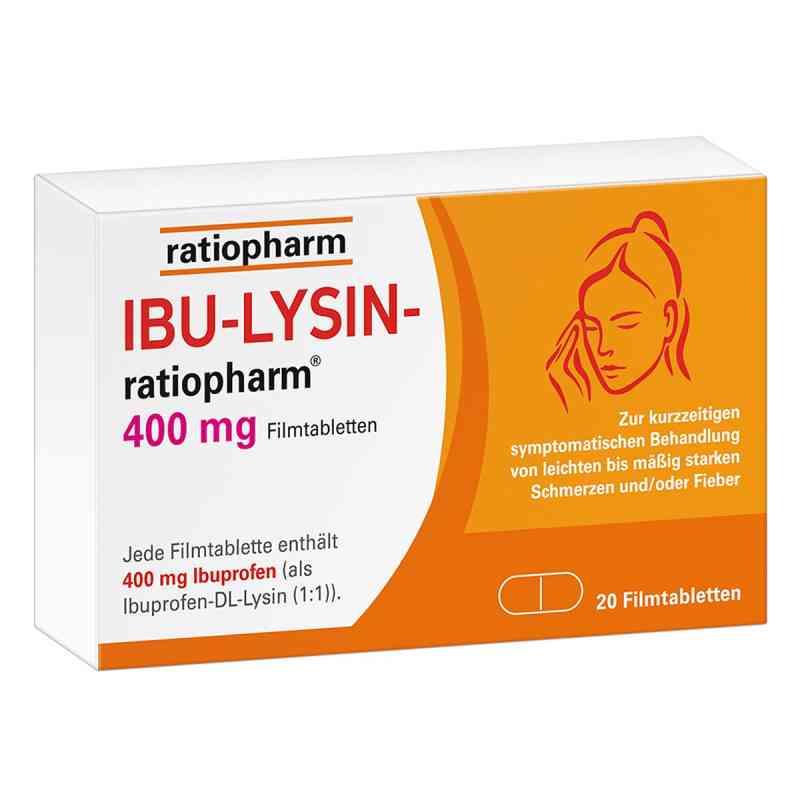 Ibu-lysin-ratiopharm 400 mg Filmtabletten  bei deutscheinternetapotheke.de bestellen