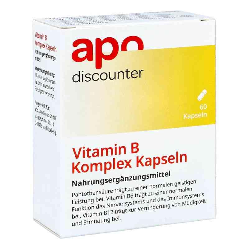 Vitamin B Komplex Kapseln von apo-discounter  bei deutscheinternetapotheke.de bestellen