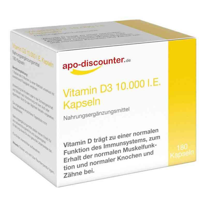 Vitamin D3 Kapseln 10000 I.e. 250 [my]g von apo-discounter  bei deutscheinternetapotheke.de bestellen