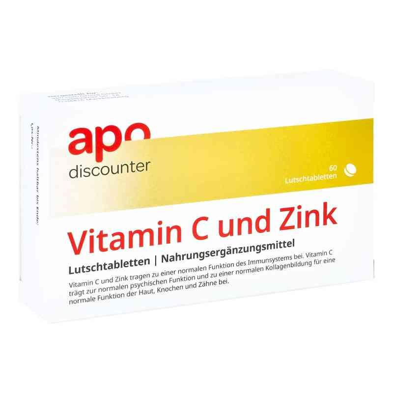 Vitamin C Und Zink Lutschtabletten von apo-discounter  bei deutscheinternetapotheke.de bestellen