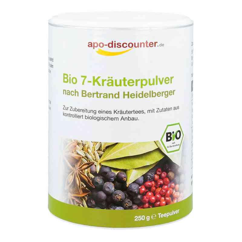 Bio 7-Kräuterpulver nach Bertrand Heidelberger von apo-discounte  bei deutscheinternetapotheke.de bestellen
