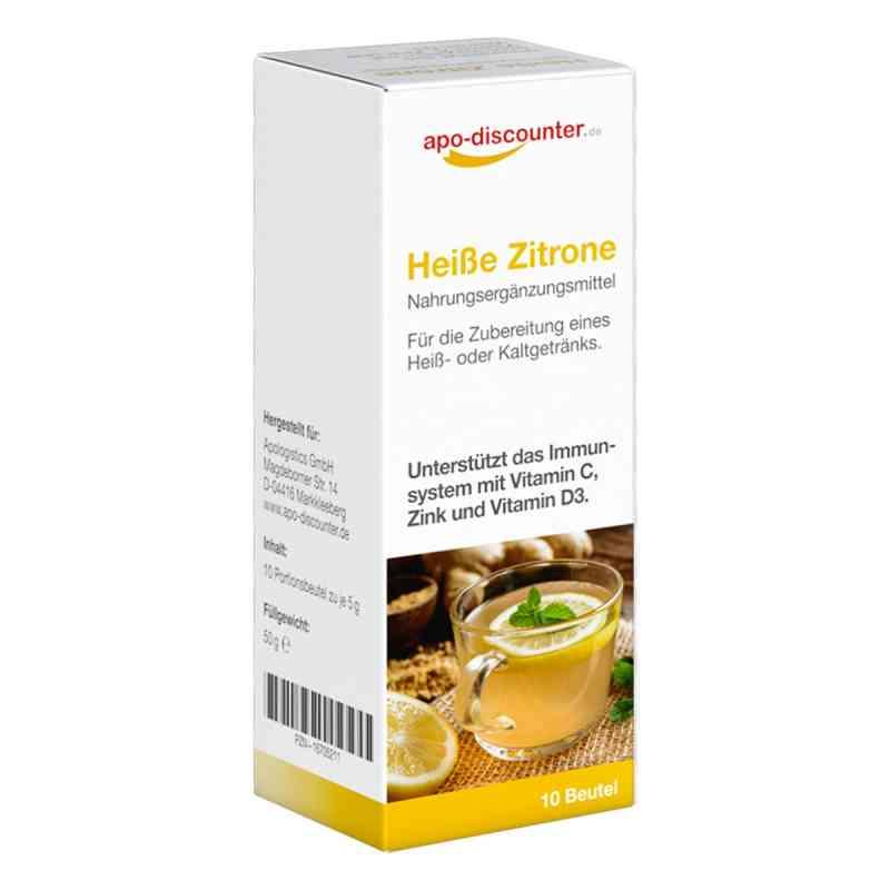 Heisse Zitrone Pulver Beutel von apo-discounter  bei deutscheinternetapotheke.de bestellen
