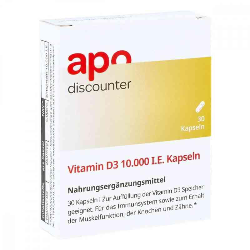 Vitamin D3 10.000 I.e. Kapseln  bei deutscheinternetapotheke.de bestellen