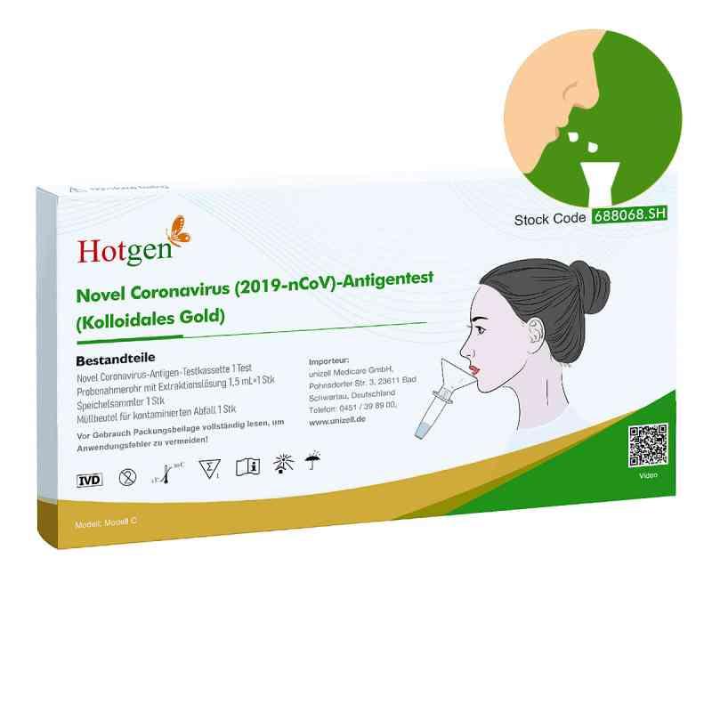 Antigen Test Coronavirus 2019-ncov Novel Hotgen  bei deutscheinternetapotheke.de bestellen
